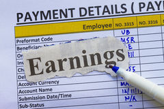 Payroll Royalty Free Stock Images