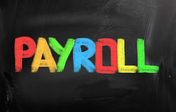 Payroll Concept Royalty Free Stock Photo