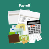 Payroll salary payment concept Royalty Free Stock Photo
