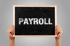 Payroll Text Stock Images