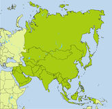 Pays asiatiques Photo stock