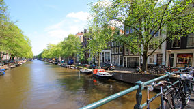 Pays Bas - Amsterdam Royalty Free Stock Photo