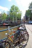 Pays Bas - Amsterdam Royalty Free Stock Photos
