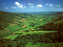 Pays basque Stock Images