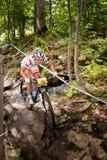 Pays croisé 2013, Mont Ste-Anne, B de coupe du monde d'UCI Photographie stock libre de droits