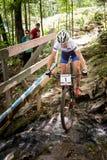 Pays croisé 2013, Mont Ste-Anne, B de coupe du monde d'UCI Photos libres de droits