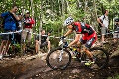 Pays croisé 2013, Mont Ste-Anne, B de coupe du monde d'UCI Photo stock
