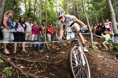 Pays croisé 2013, Mont Ste-Anne, B de coupe du monde d'UCI Photo libre de droits