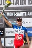 Pays croisé 2013, Mont Ste-Anne, B de coupe du monde d'UCI Image libre de droits