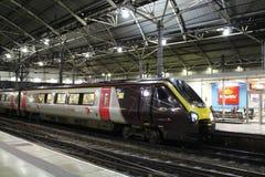 Pays croisé Voyager Leeds à unités multiples diesel Photos libres de droits