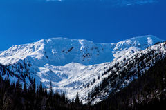 Pays d'avalanche Photographie stock