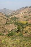 Pays de colline de Kalaw - Birmanie Photographie stock
