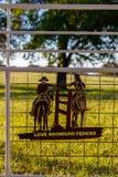 Pays de colline du Texas Photo stock