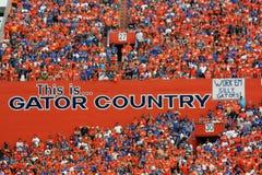 Pays de Gator Photo libre de droits