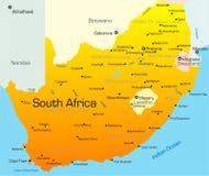 Pays de l'Afrique du Sud illustration libre de droits