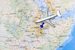 Pays de l'Ethiopie Image libre de droits