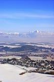 Pays de l'hiver Images libres de droits