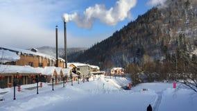 Pays de neige Photographie stock