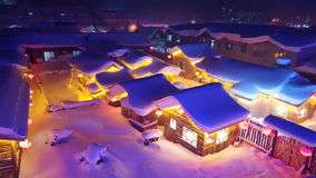 Pays de neige image stock