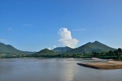 Pays de rivière Images stock