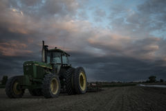 Pays de tracteur Photo stock