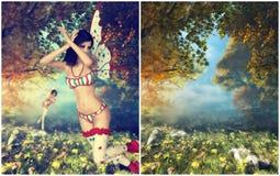 Pays des merveilles Photographie stock