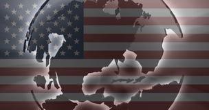 pays du pavillon de l'Amérique unis Images stock