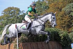Pays en travers d'Eventing image libre de droits