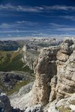 Pays magique de montagne Photo stock