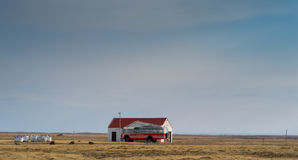 Pays occidental de l'Islande Photos libres de droits