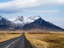 Pays occidental de l'Islande Photo stock