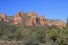 Pays rouge Sedona Arizona de roche Photos libres de droits