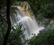 Pays Sgwd Clun Gwyn de cascade Photographie stock libre de droits
