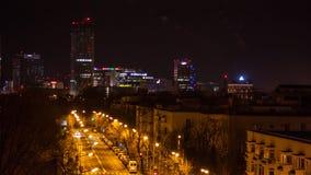 Paysage à Bucarest Photographie stock