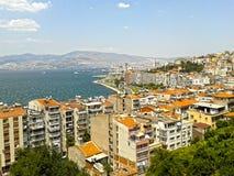Paysage à Izmir Image libre de droits
