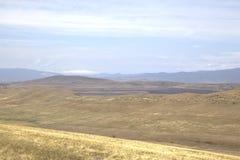 Paysage à proximité du monastère de David-Gareja image libre de droits