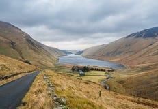 Paysage écossais typique en hiver Photos stock