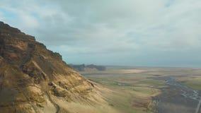 Paysage épique de l'Islande banque de vidéos