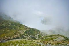 Paysage étonnant près des sept lacs Rila Image stock