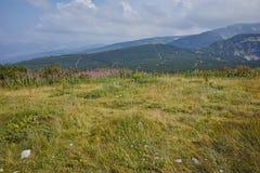 Paysage étonnant près des sept lacs Rila Images stock