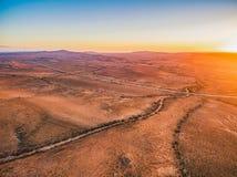 Paysage étranger des chaînes de Flinders photographie stock libre de droits