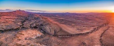 Paysage étranger des chaînes de Flinders dans l'Australie du sud images libres de droits