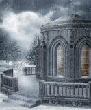 Paysage 18 de l'hiver Images libres de droits