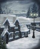 Paysage 21 de l'hiver Photographie stock libre de droits