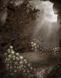 Paysage 3 de Veille de la toussaint illustration libre de droits
