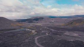 Paysage aérien islandais clips vidéos