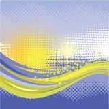 Paysage abstrait Images libres de droits