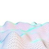 Paysage abstrait de la terre de grille colorée Photographie stock libre de droits