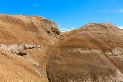 Paysage accidenté de désert Images libres de droits