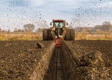 Paysage agricole, champ arable de culture images libres de droits